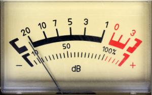 Прибор измерения децибелов