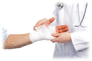 Определение вида травмы