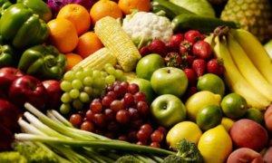 Свежие фрукты, овощи