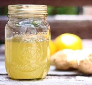 Имбирь с лимоном в сахаре