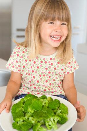 Брокколи для детей