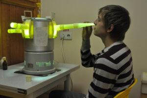 Ультрафиолет для носа