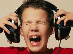 Не слушать громкую музыку