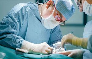 Хирургическое иссечение бородавки стопы