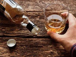 Прием с алкоголем