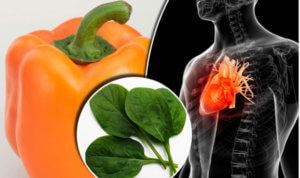 Овощи для сердца