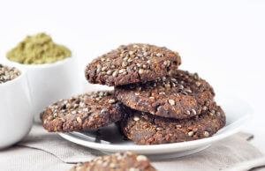 Печенье из семян конопли
