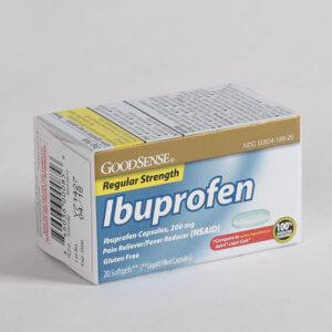 Лечение Ибупрофеном