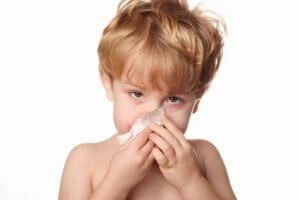 Осложненный насморк у детей