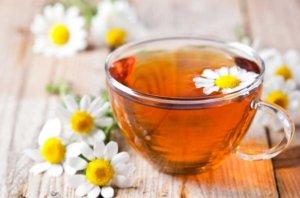 Ромашковый чай от изжоги