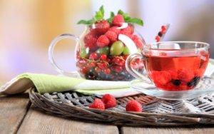 Ягодный чай для беременных