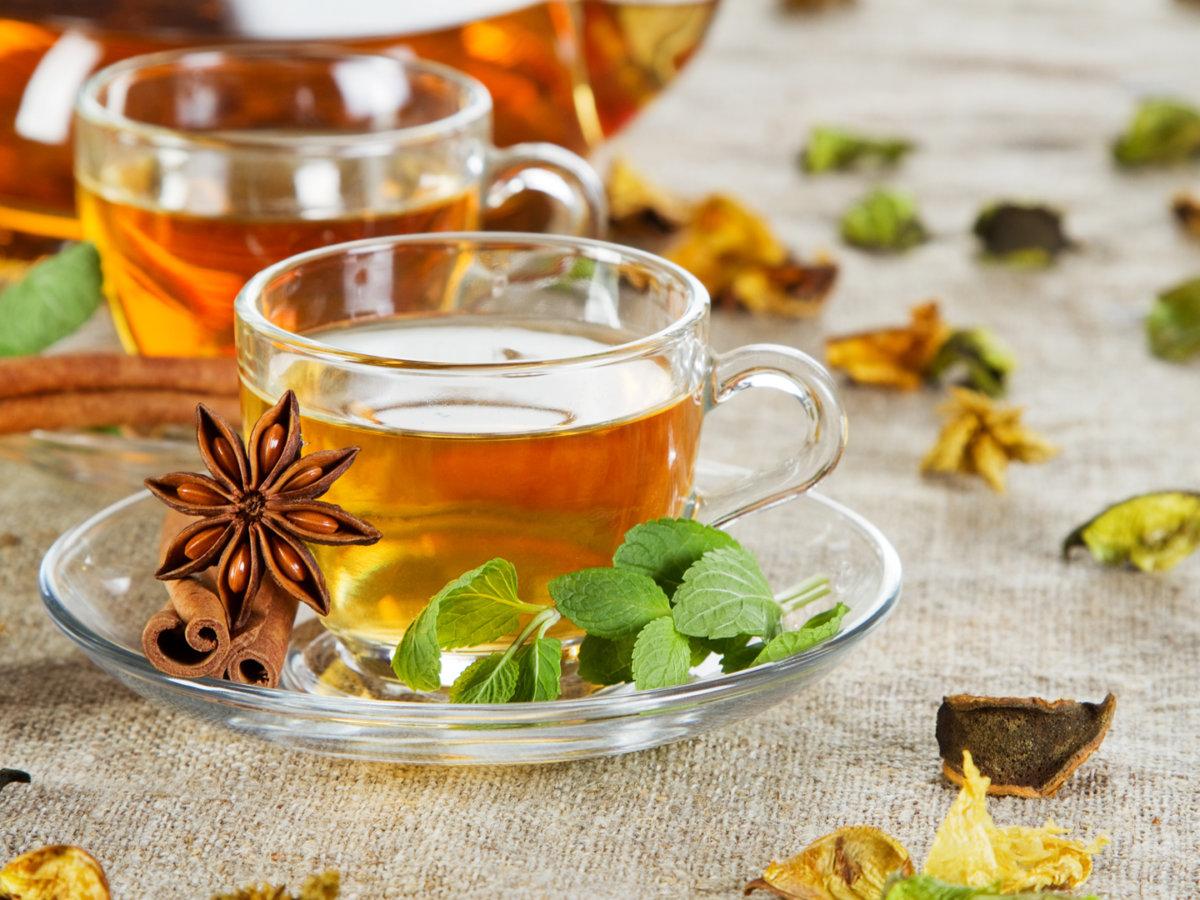 Травяной чай для лечения
