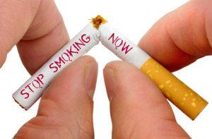 Строгий отказ от курения
