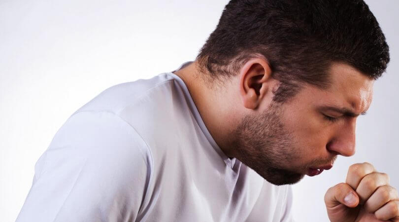 Сильный надрывный кашель