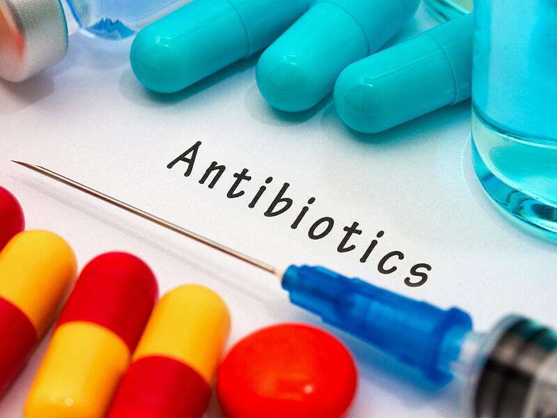 Ассортимент антибиотиков против кашля