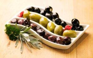 Полезный состав оливок