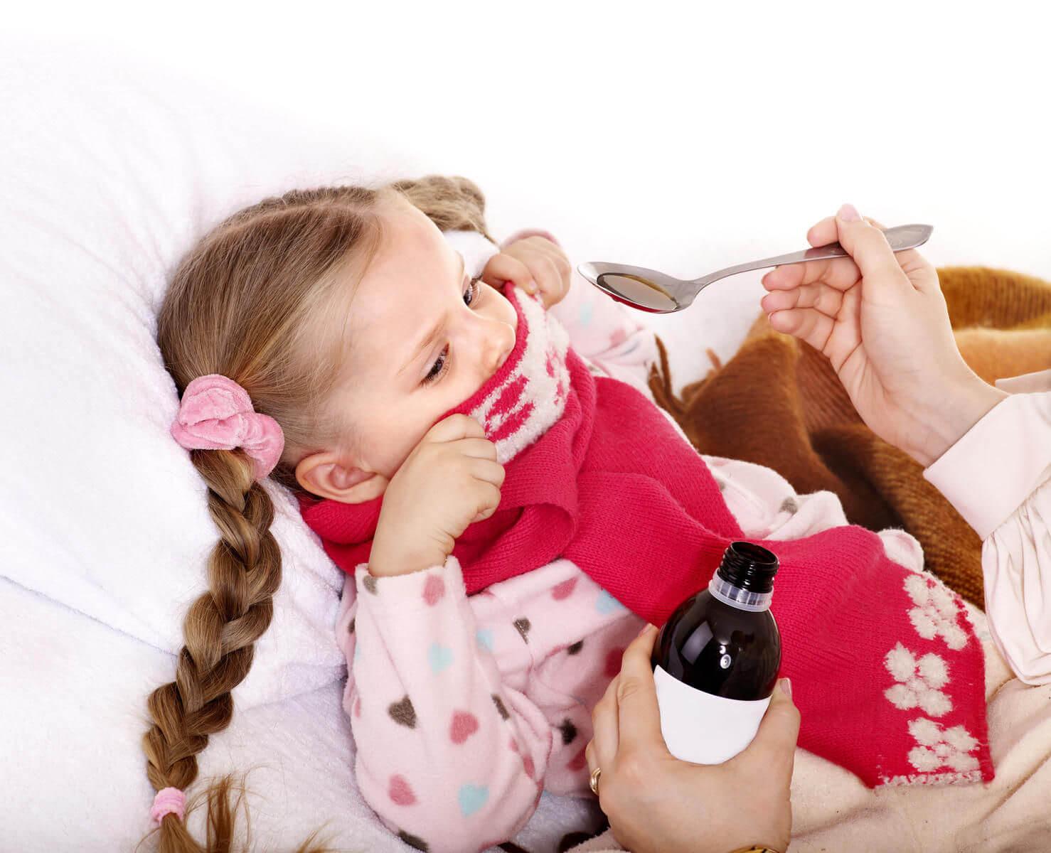 Лечение сиропами от кашля