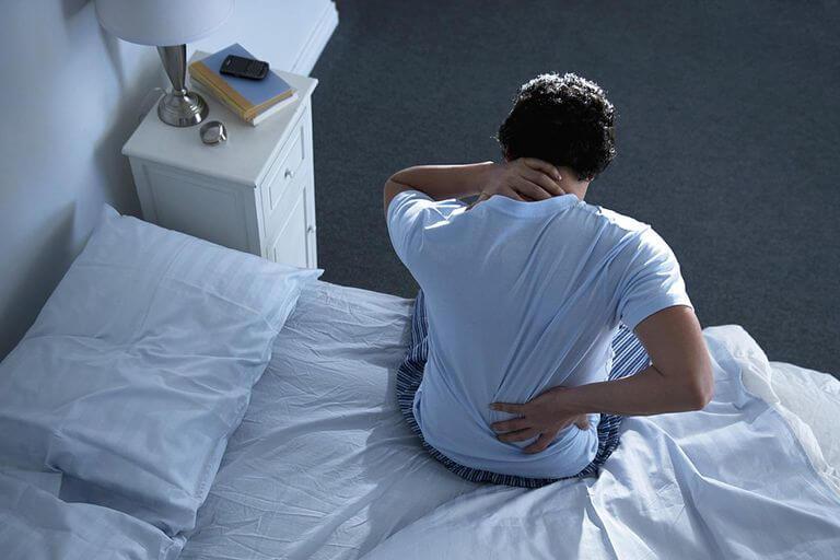 Неудобное положение во время сна
