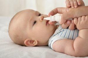Капли в нос для малышей