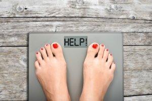 Снижение веса застопорилось