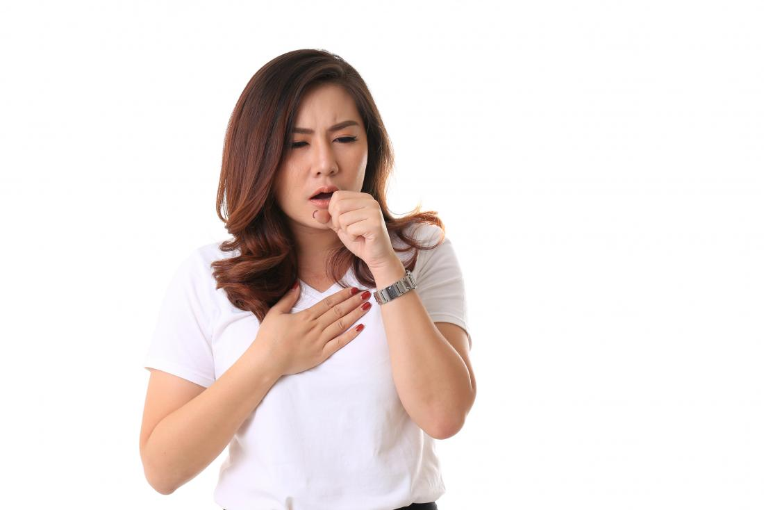 Сильный кашель как верный признак