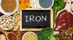 В каких продуктах много железа