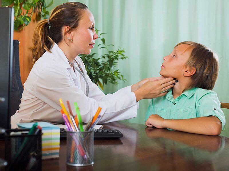 Изучение щитовидки в детском возрасте