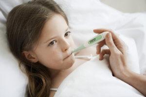 Измерение температуры через рот