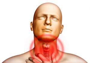 Аномальные изменения в щитовидке