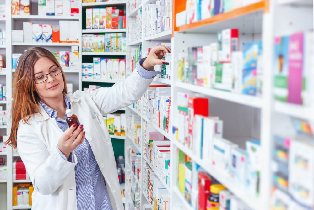 Отпуск средства из аптеки