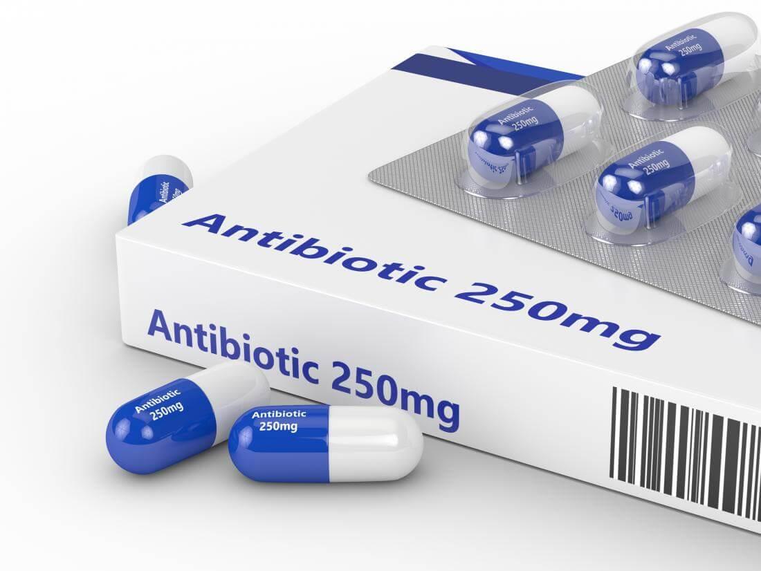 Совместно с антибиотиком