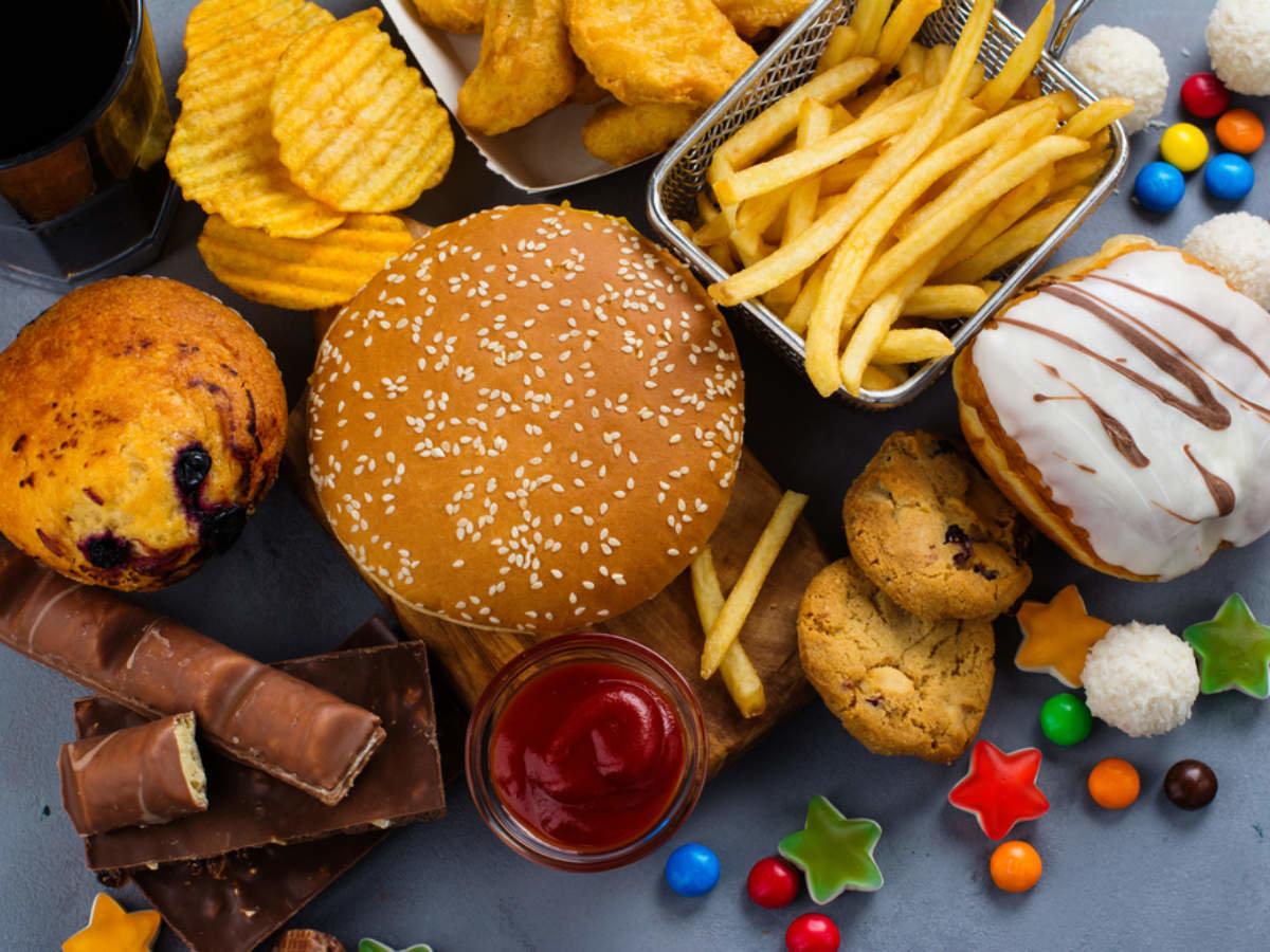 то, что картинки о вредной еде даже выбрали