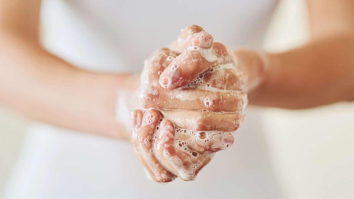 Правильное мытье рук