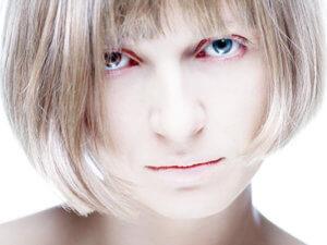 Бледная кожа лица
