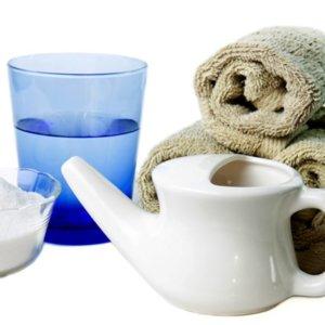 Солевое промывание носа