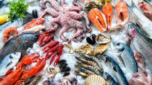 Морепродукты обязятельны для восполнения йода