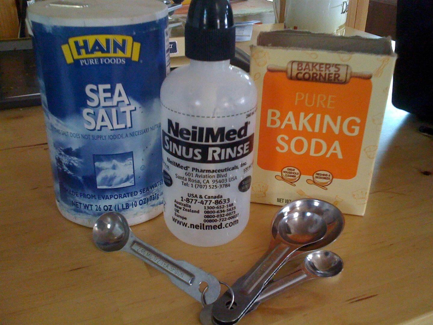 Использование соды