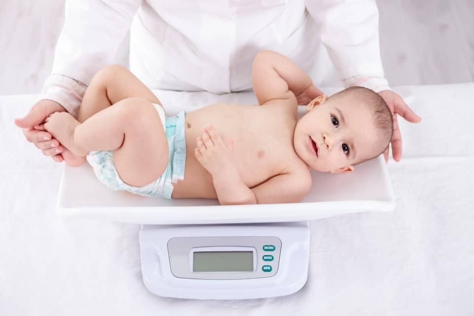 Как узнать вес ребенка
