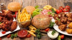 Преобладание жирной пищи