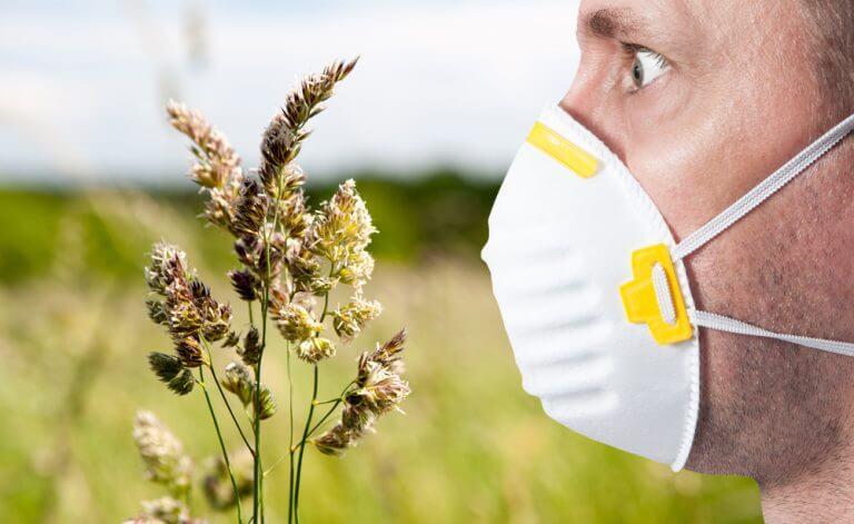 Защитить от аллергена