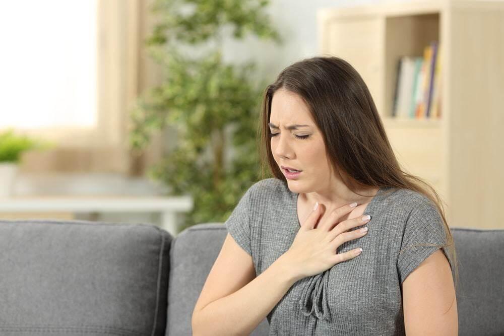 Удушье от аллергена