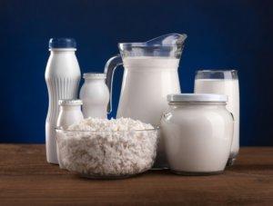 Разрешенные молочные продукты
