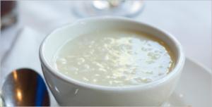 Рисовый суп с молоком