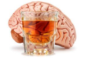 Поражение мозга алкоголем
