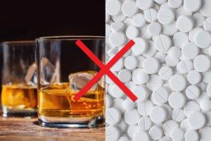 Совмещение с алкоголем под запретом