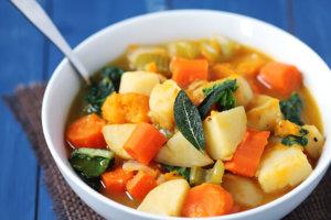 Рагу из зимних овощей
