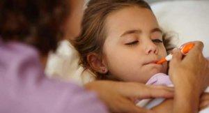 Проявление недуга у детей