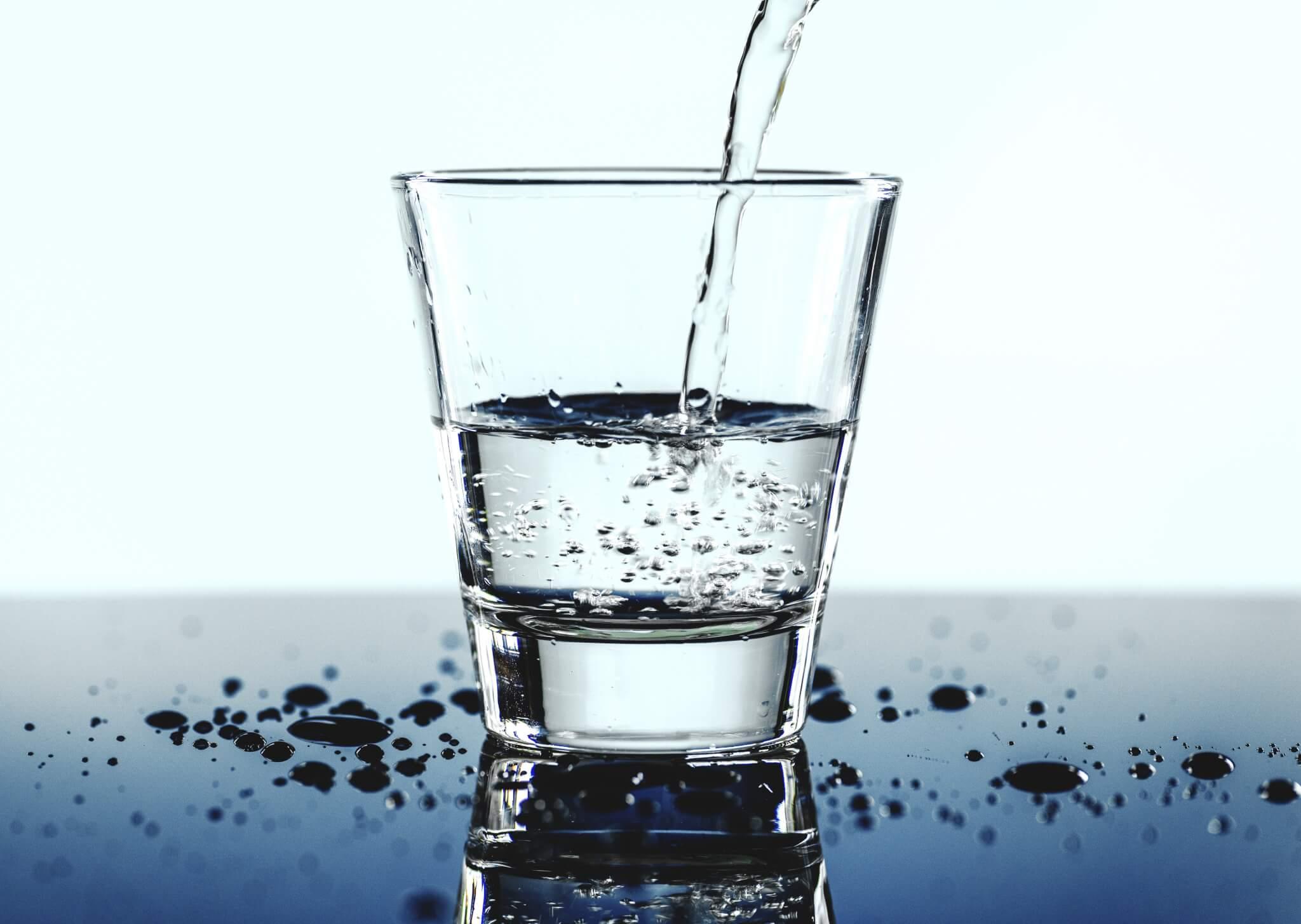 Положенное количество воды