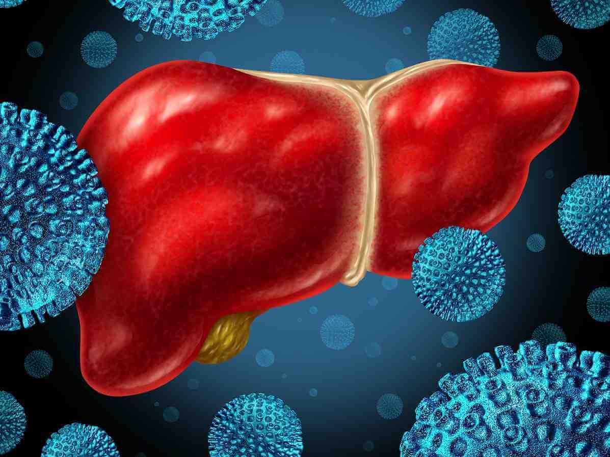 Поражение клетками гепатита