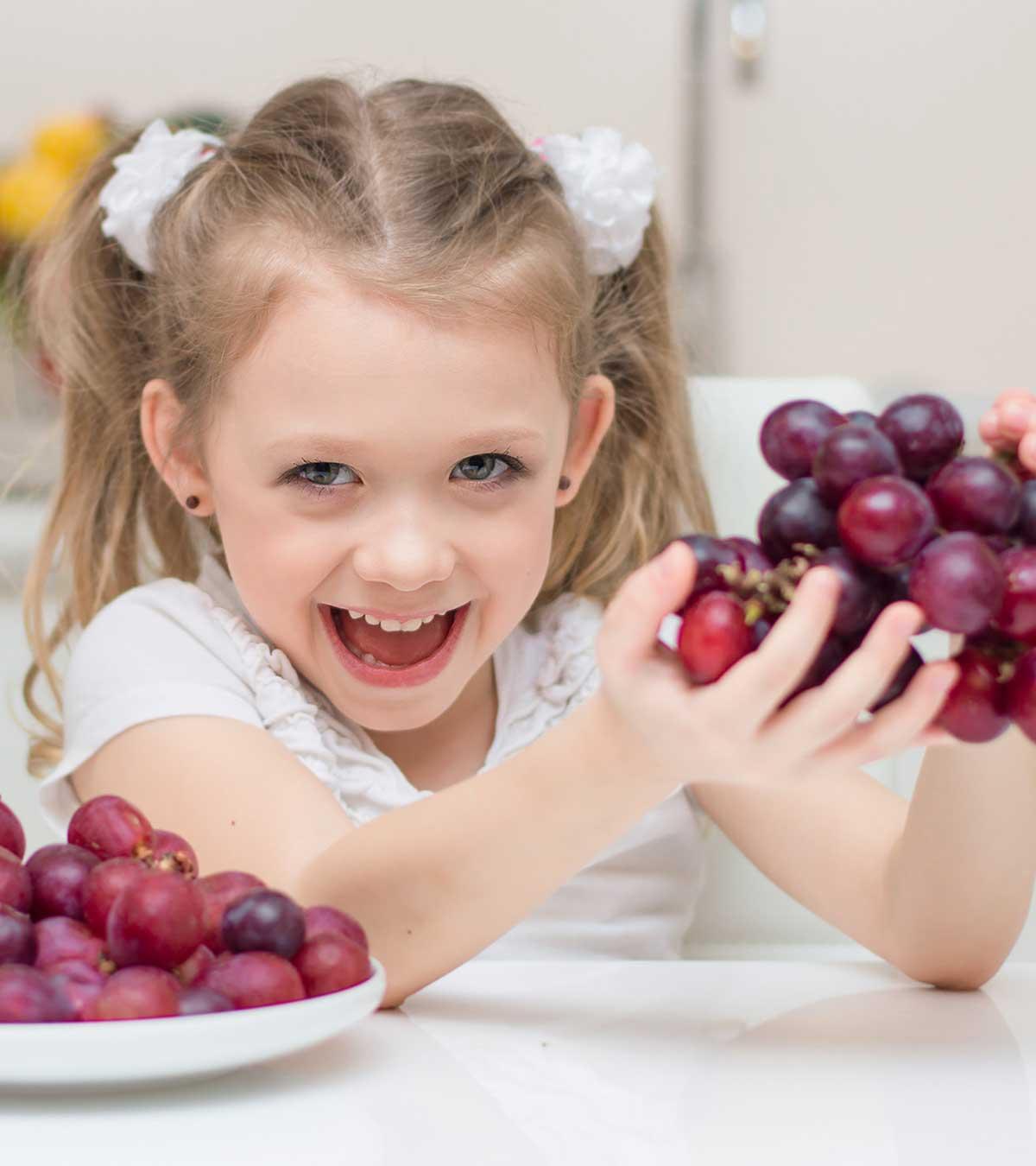 С какого возраста можно виноград